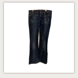 3/$20 7 For All Mankind Darkwash Bootcut Jeans